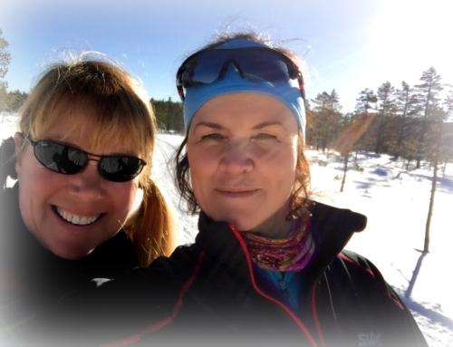 skitur med «kjentmann» og vaffel på Tosseviksetra
