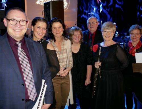 """takk til Hønefoss Ungdomskorps for musikalsk """"nyttårssalutt"""""""