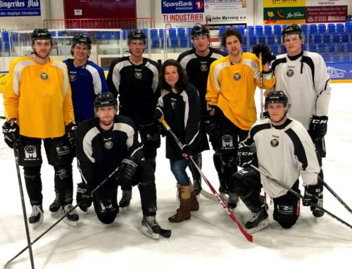 """lokal """"hockey-feber"""" – Ringerike Panthers på vei til øverste hockey-divisjon …?!"""